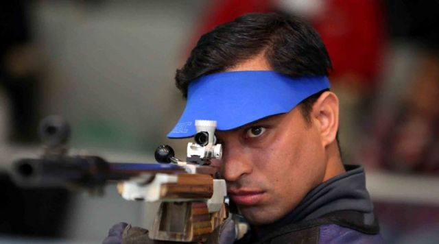 India's Ace shooter Rajput wins silver in ISSF World Cup