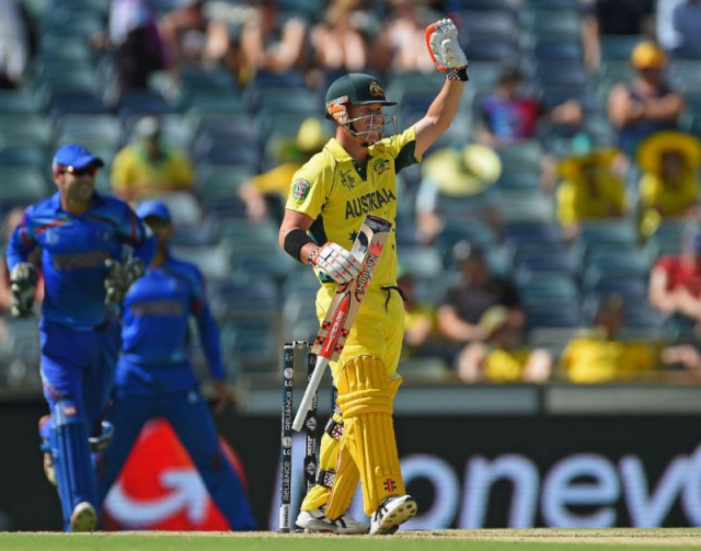 आस्ट्रेलिया ने अफगानिस्तान को 275 रनों से हराया
