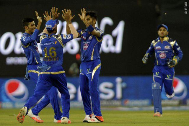 IPL-8 : मुंबई इंडियंस ने रॉयल्स को 8 रनों से हराया