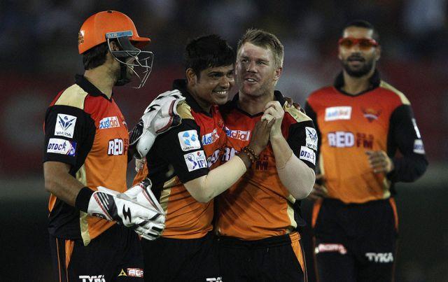 IPL 8  : सनराइजर्स ने सुपकिंग्स को 22 रनों से हराया