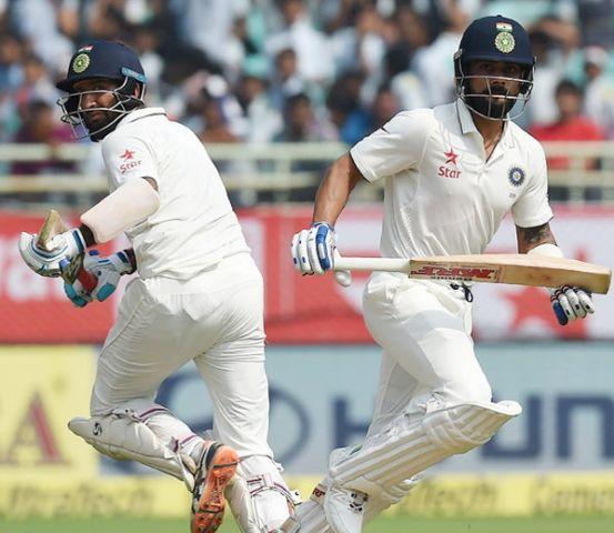 भारत ने गंवाये 4 विकेट, स्कोर 317 रनों पर पहुंचा