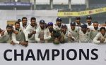 Team India Aced the Kiwis on the fourth day of the final test