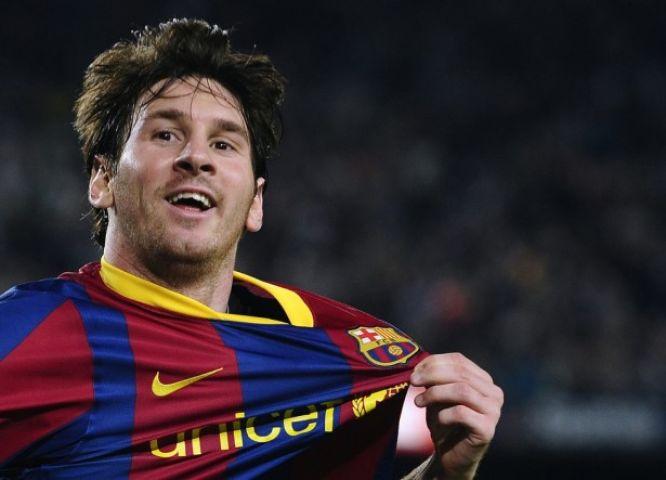 मेस्सी के धमाकेदार गोल से बार्सिलोना जीता