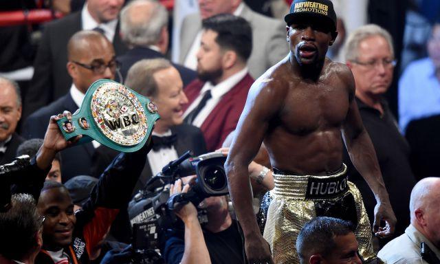 बॉक्सिंग इतिहास की सबसे बड़ी फाइट के चैम्पियन बने मेयवेदर