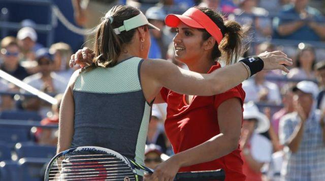 US Open : सानिया-मार्टिना ने क्वार्टर फाइनल में अपनी जगह बनाई
