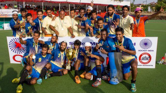 भारतीय रेलवे हॉकी टीम ने जीता स्वर्ण