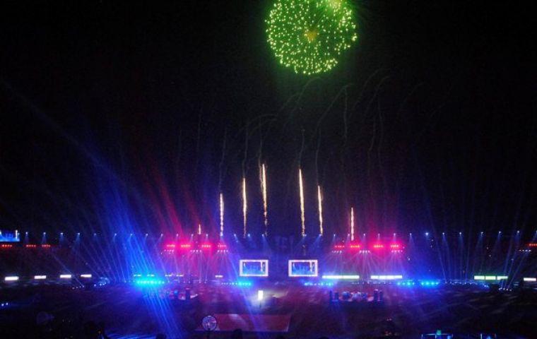 12वें दक्षिण एशियाई खेलों का हुआ भव्य तरीके से समापन