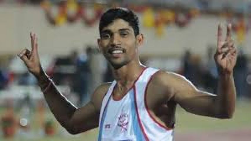 Sameer Mon appears fastest athlete of Nat'l Inter-state Athletics