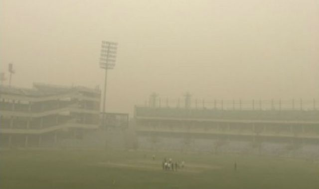 Ranji Trophy games rescheduled due to fog in capital !