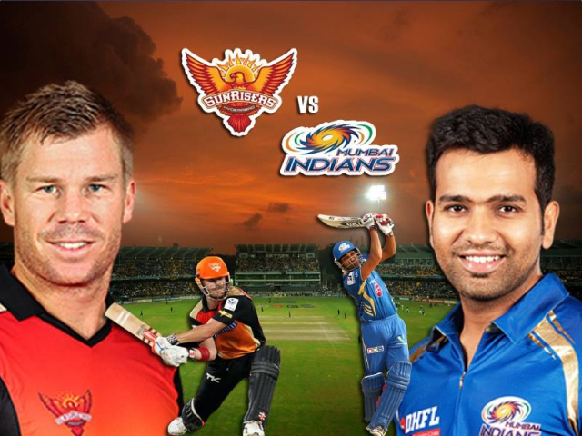 IPL में आज भिड़ेगी मुंबई इंडियंस और सनराइजर्स हैदराबाद की टीमें