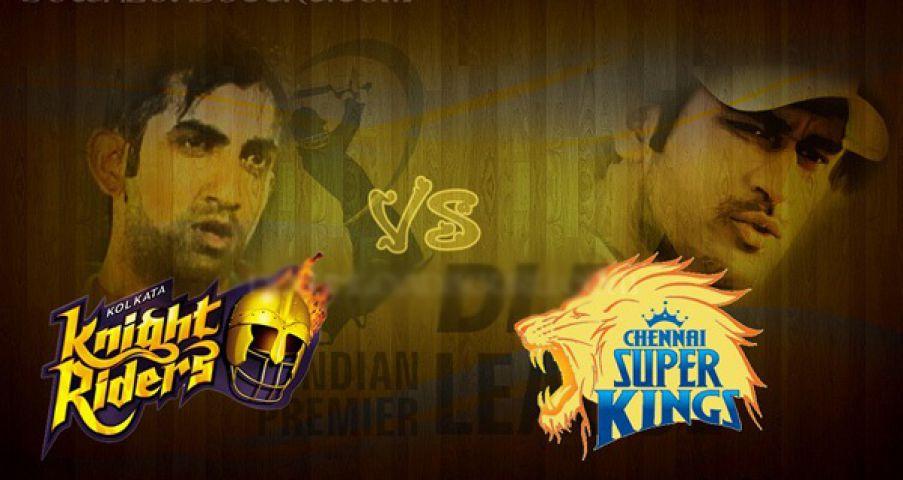 IPL-8 : सुपरकिंग्स से भिड़ेगी आज नाइट राइडर्स