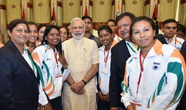 PM Narendra Modi wishes Rio athletes