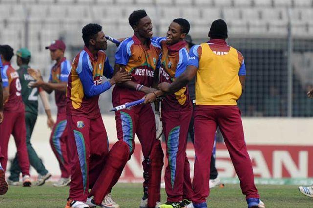 ICC अंडर19 वर्ल्ड्कप् : बांग्लादेश को हराकर वेस्टइंडीज फ़ाइनल में