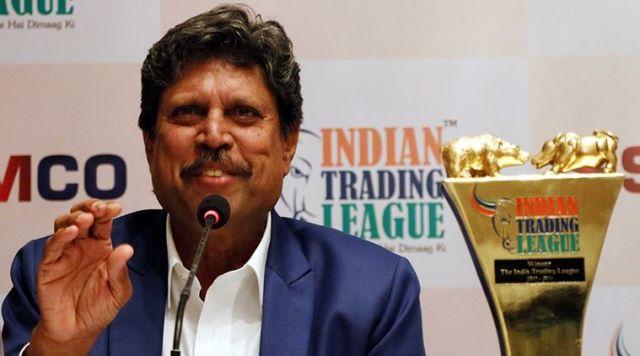 क्रिकेट युवाओं में करियर ऑप्शन बनता जा रहा : कपिल देव