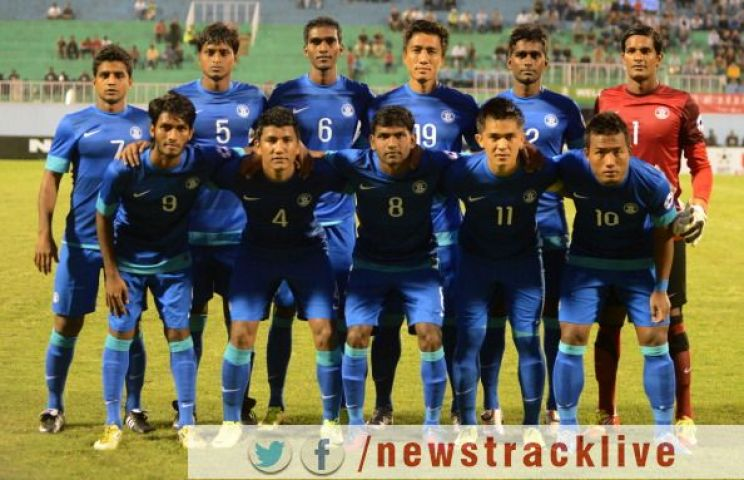 FIFA की ताजा विश्व रैकिंग में 163वें स्थान पर भारत