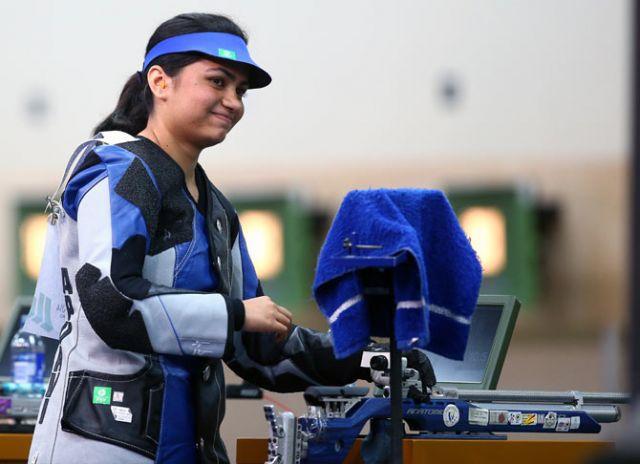 भारतीय महिला निशानेबाज अपूर्वी चंदेला 'सर्वश्रेष्ठ शूटर' बनी