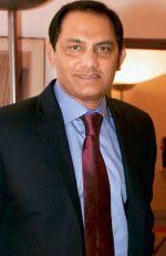 Mohammad Azharuddin stands for HCA president's contest
