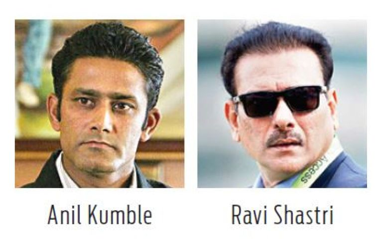 Hunt for India Coach: Advantage Kumble over Shastri