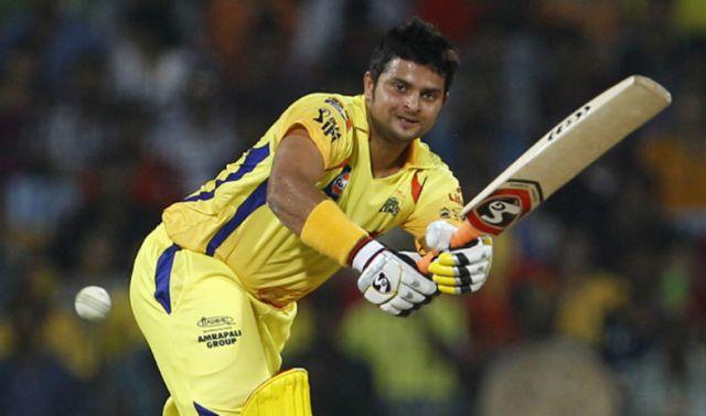 रैना के आईपीएल में 3,500 रन पूरे