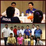 Sachin Tendulkar meets Indian athletes for Rio