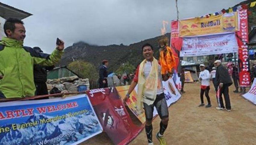 World's highest marathon, Sunuwar from Nepal wins