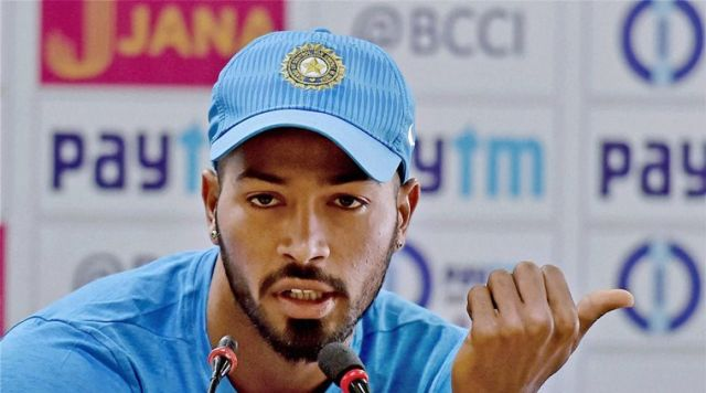 Hardik Pandya praises Rahul Dravid for the support !