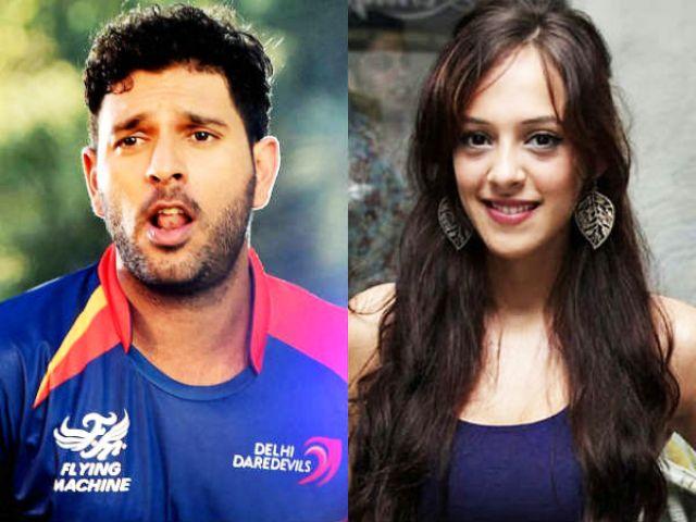 भारतीय क्रिकेट टीम के युवराज बॉलीवुड अभिनेत्री को कर रहे डेट