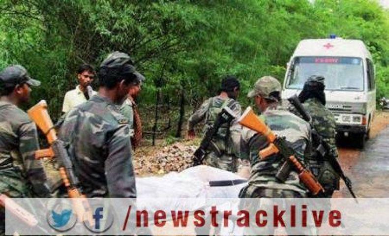 नक्सली हमले में एक BSF अधिकारी सहित दो शहीद