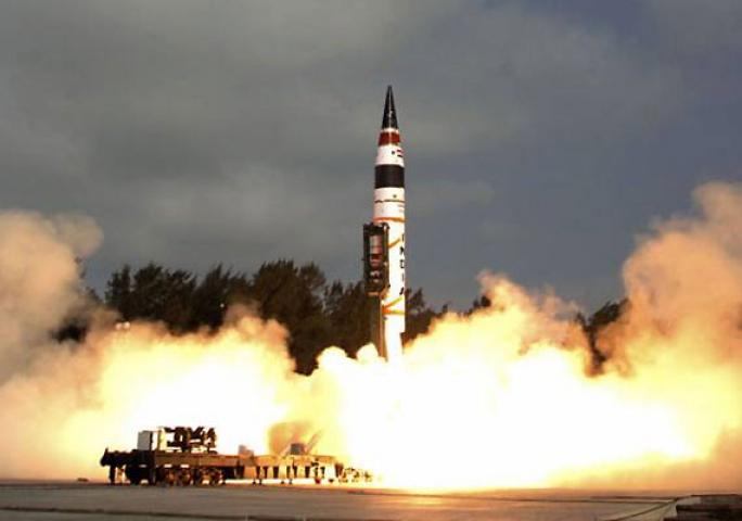 भारत ने किया अग्नि-3 मिसाइल का परीक्षण