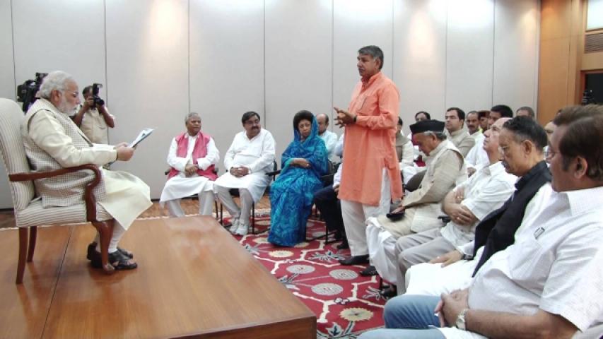 आज भाजपा सांसदों की क्लास लेंगे PM मोदी