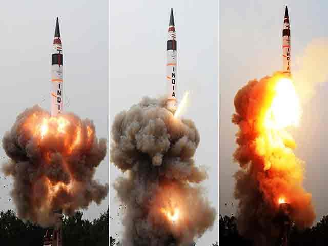 भारत के अग्नि-5 मिसाइल के 12 माह में 3 और परीक्षण