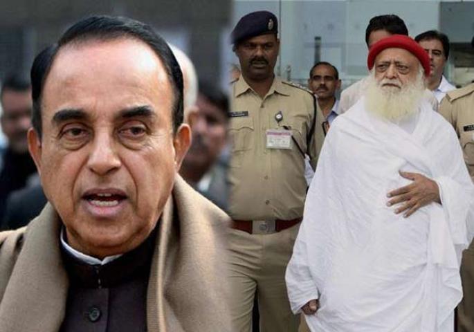 भाजपा नेता सुब्रमण्यम स्वामी लड़ेंगे आसाराम का केस, जोधपुर जेल में की मुलाकात