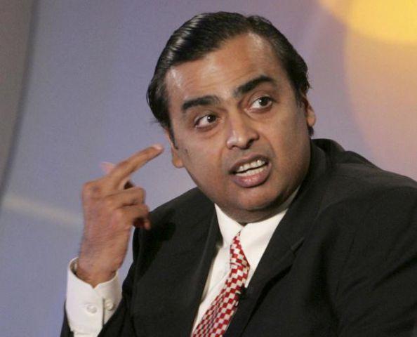 अमीर भारतीयों की सूची में मुकेश अंबानी फिर शीर्ष पर
