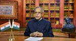 राष्ट्रपति प्रणब मुखर्जी ने नए साल पर देश को प्रदुषण मुक्त बनाने को कहा