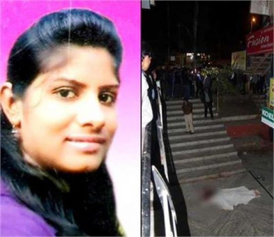 6 ठी मंजिल से गिरकर छात्रा की मौत