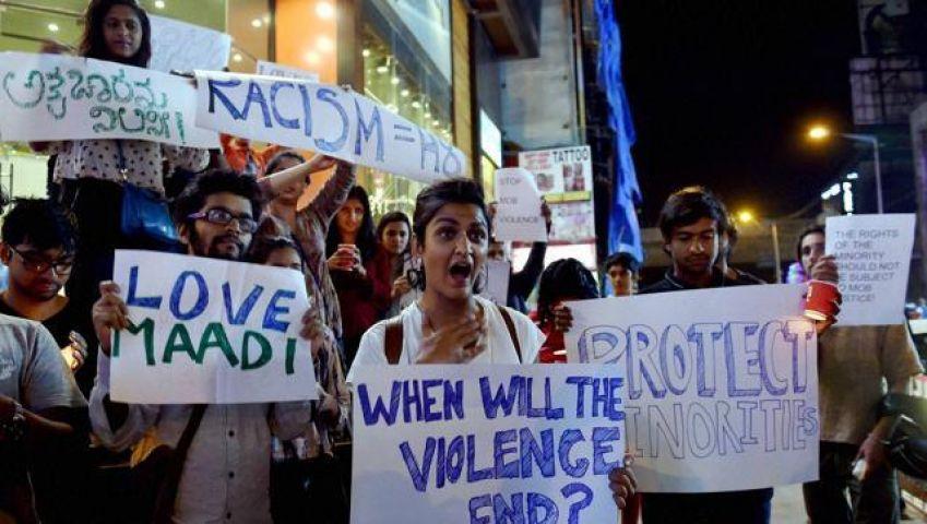तंजानियाई युवती की पिटाई का किया लोगों ने विरोध, बेंगलुरू पहुंचा जांच दल