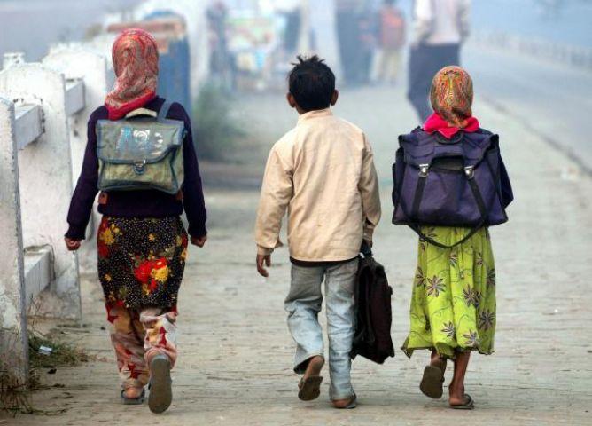 भोपाल में ऑड-इवन से होगा स्कूली बच्चों के बस्ते का बोझ कम