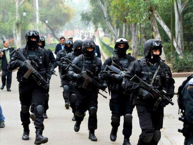 300 ब्लैककैट कमांडोज़ ने की एयरबेस स्टेशन पर कार्रवाई