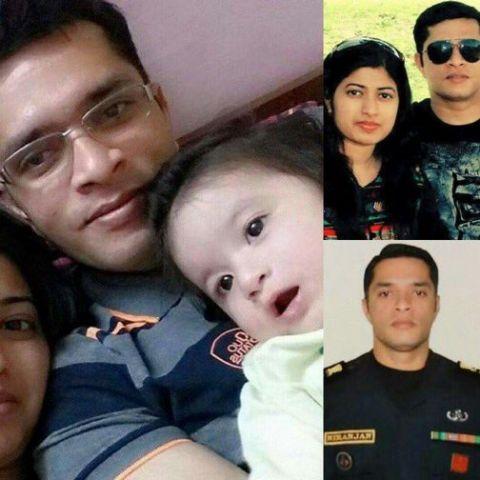 पाकिस्तानी वेबसाइट को हैक कर लगा दी शहीद कर्नल निरंजन की बेटी की तस्वीर