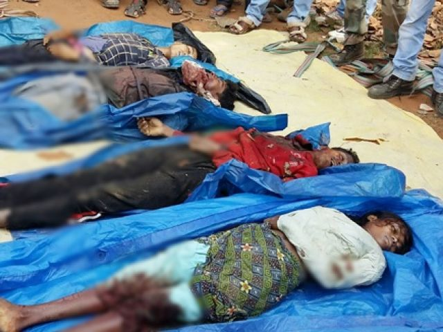 मुठभेड़ में 4 नक्सली मारे गए, हथियार हुए बरामद