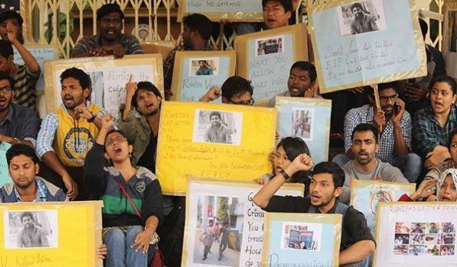 दलित छात्र की सुसाइड पर गरमाई राजनीति, VC ने कहा केंद्र ने नही डाला दबाव