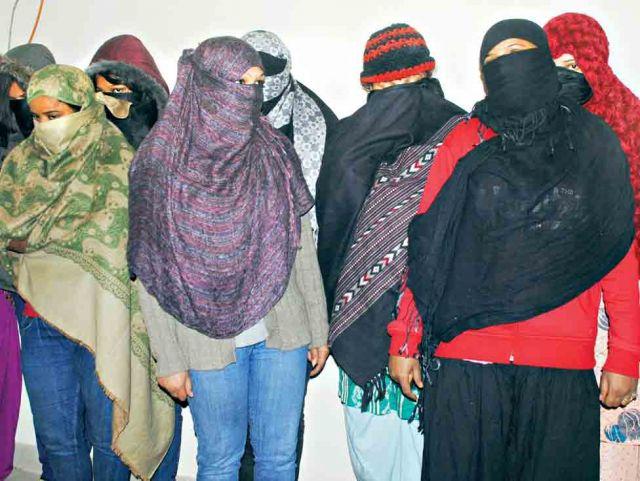 इंदौर में नहीं थम रहा जिस्म फरोशी का धंधा,फिर पकड़ाया सेक्स रैकेट