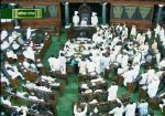 रोहित वेमुला और कठेरिया के बयान पर संसद में बवाल