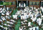 रोहित वेमुला और कठेरिया के बयान पर हंगामा, संसद कल तक के लिए स्थगित