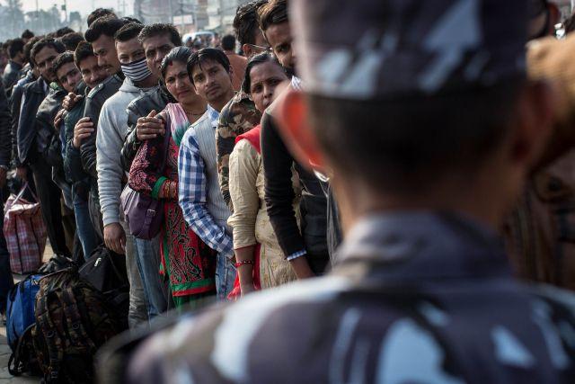 नेपाल से 17500 नागरिक लौटे अपने देश