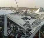 प्रधानमंत्री मोदी के सभास्थल का पंडाल गिरा, 55 लोग घायल
