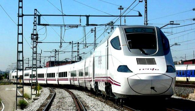 स्पेन की टैल्गो ट्रैन  का सेंसर ट्रायल सफल