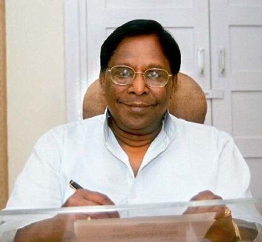 नारायण सामी बनेंगे पुड्डुचेरी के मुख्यमंत्री