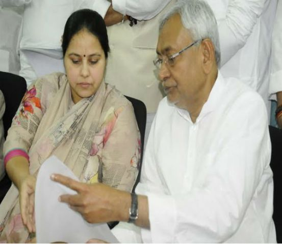 JRD से मीसा भारती ने भरा राज्यसभा का पर्चा
