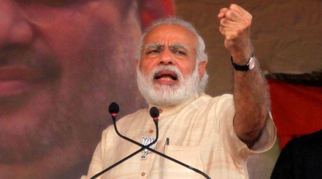 मेरी सरकार ने कांग्रेस मुक्त भारत की जिम्मेदारी उठाई : नरेंद्र मोदी